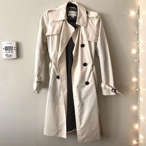 Banana republic beige trench coat